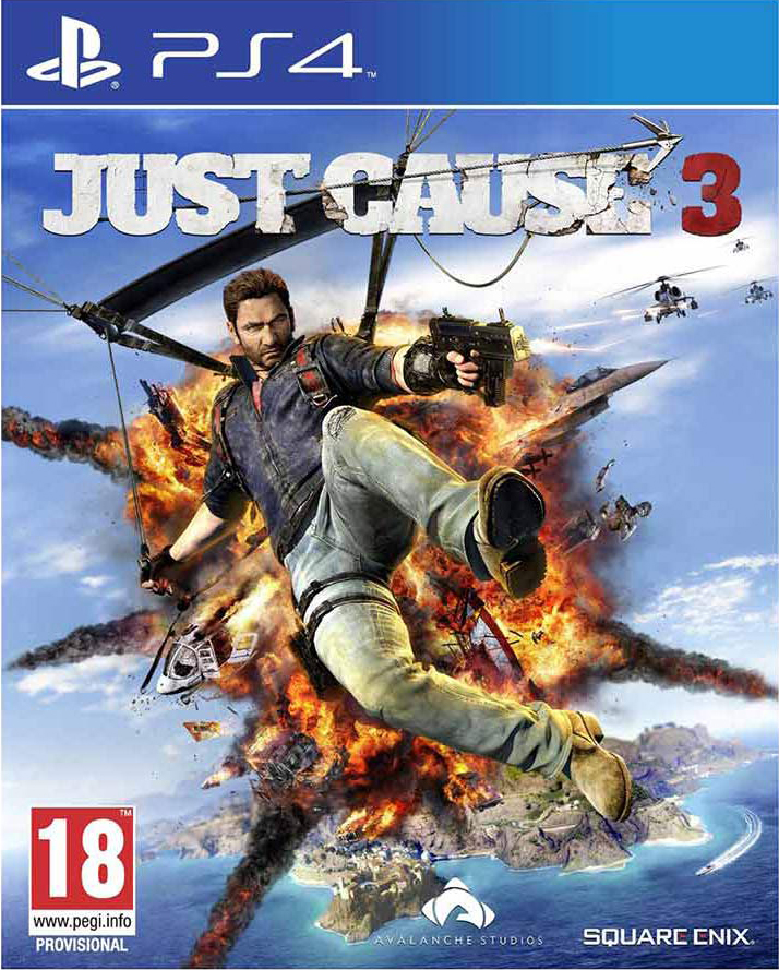 Just Cause 3 for PS4 Cover