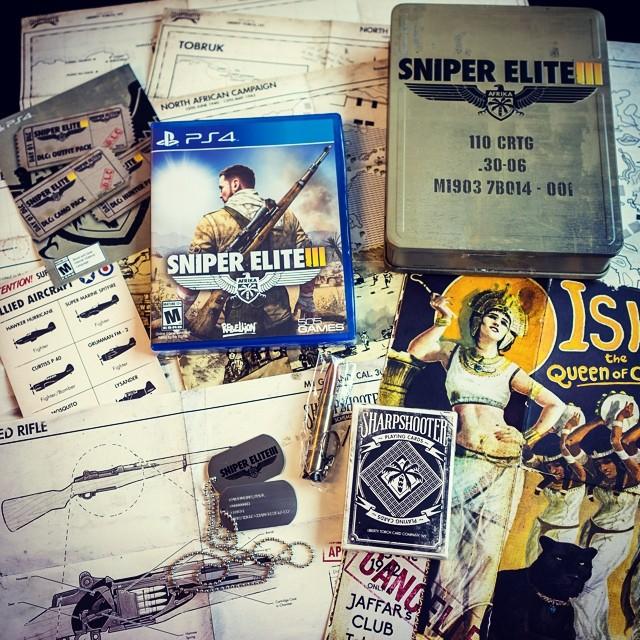 Коллекционное издание Sniper Elite 3